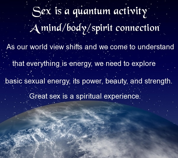 How is sex spiritual